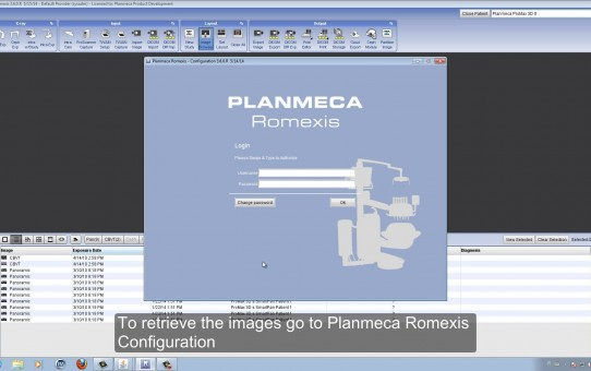 Deleting and retrieving images and patients in Planmeca Romexis®