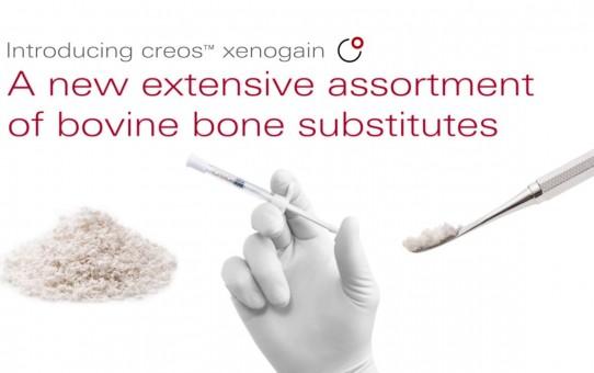 creos xenogain   bovine bone substitute   Nobel Biocare