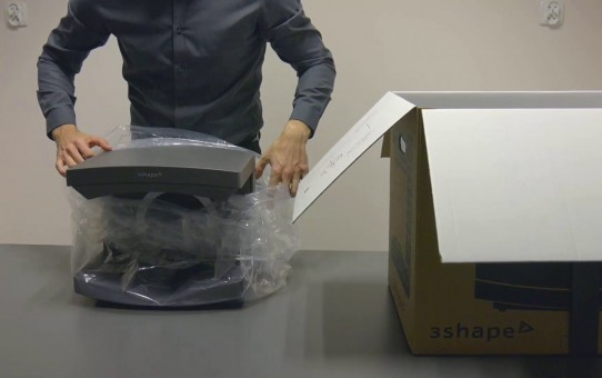 1. E scanner – Unboxing and installation of the E scanner