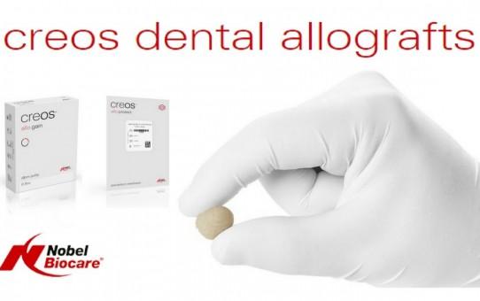 creos dental allografts portfolio | Nobel Biocare