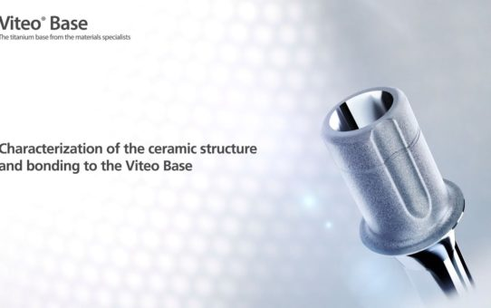 Characterization of the ceramic structure and bonding to the Viteo Base