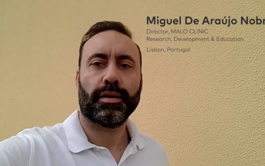 Covid19: Dr Miguel Nobre from the MALO CLINIC