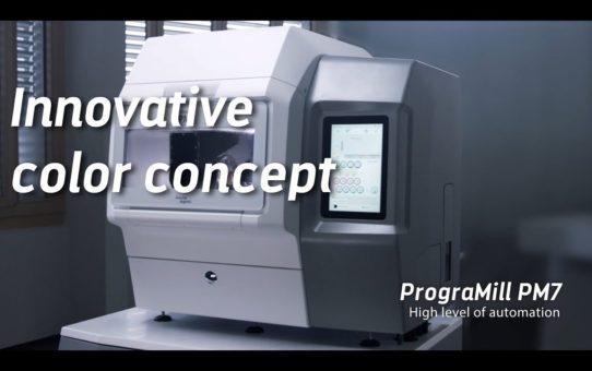 PrograMill PM7: Innovative color concept