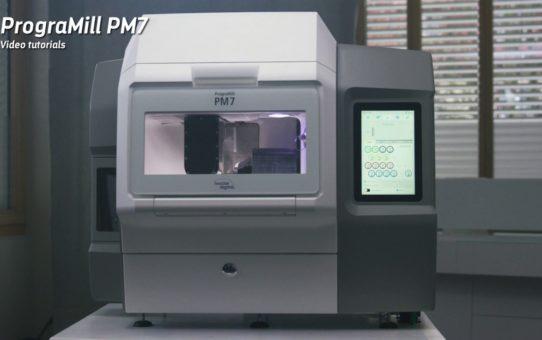 Video tutorial PrograMill PM7 – Calibration