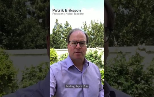 World Health Day 2020: Patrik Eriksson President of Nobel Biocare Systems