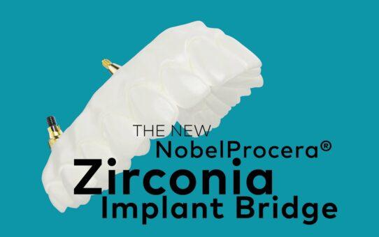 NobelProcera Zirconia Implant Bridge