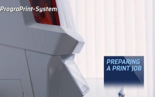 Video tutorial PrograPrint 3D printing system - Preparing a print job