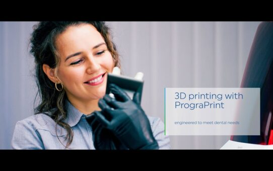 3D Printing – engineered to meet dental needs