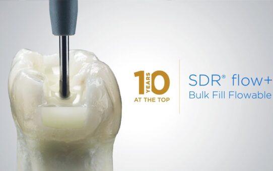 SDR® Flow+ celebrates 10 years | Dentsply Sirona